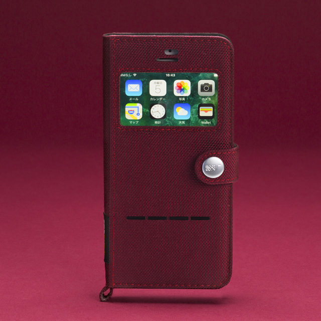 Shock Resist Diary Case For iPhone8/7