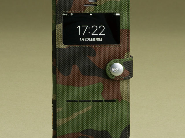 Military Edition Shock Resist Diary Case. For iPhone8/7