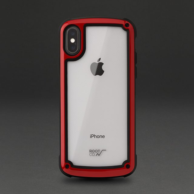 GRAVITY Shock Resist Tough & Basic Case. for iPhoneX