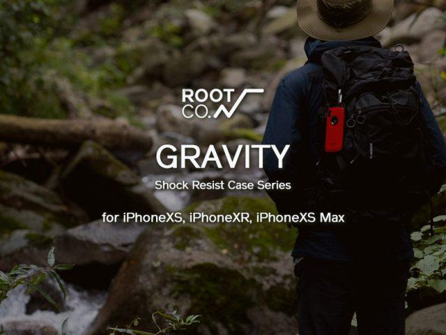 【新商品】GRAVITYシリーズ for iPhoneXR/iPhoneXS Max/iPhoneXS 販売開始のお知らせ
