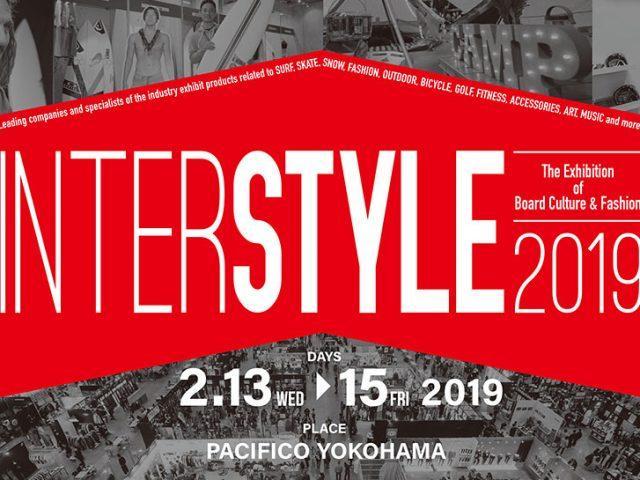 「INTERSTYLE february 2019」出展のお知らせ