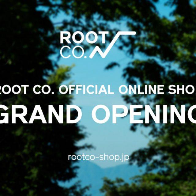 ROOT CO.公式直営オンラインストア『ROOT CO. ONLINE SHOP』オープン