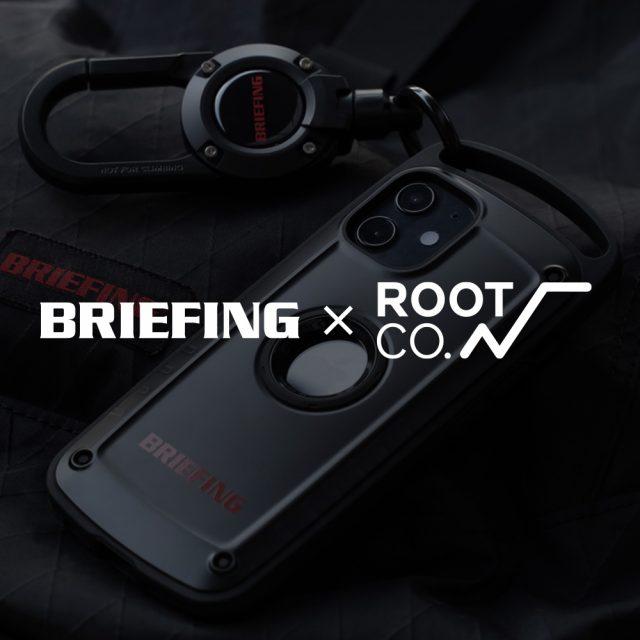 【新商品】BRIEFING×ROOT CO.<br>コラボレーションのお知らせ