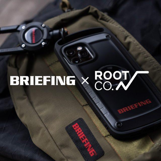 【新商品】BRIEFING×ROOT CO. SHOCK RESIST CASE Pro. / MAG REEL 360 コラボレーションモデル販売開始のお知らせ